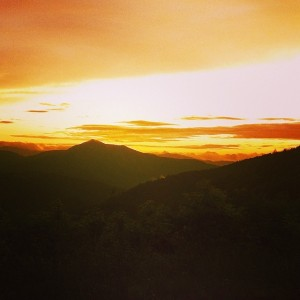 Sunset Blue Ridge Parkway