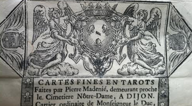 Fooling with the Deck: Our Tarot Ancestors: Early 18th Century Pierre Madenie Deck