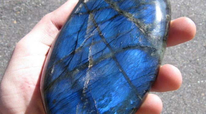 She Said: The Metaphysical Properties of Labradorite & Spectralite