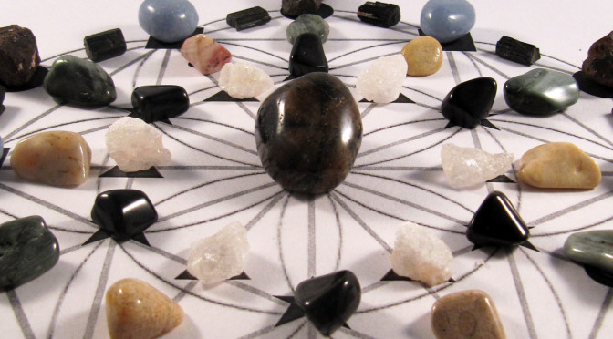 Crystal Stone Grids–What's the Flippin' Point?