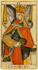 Early form of High Priestess