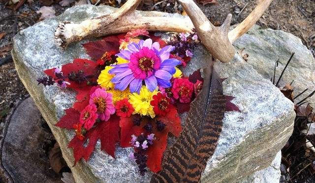 Earth Art: Autumn Mandala