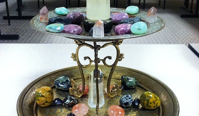 Rock Life:  Double Decker Crystal Grid