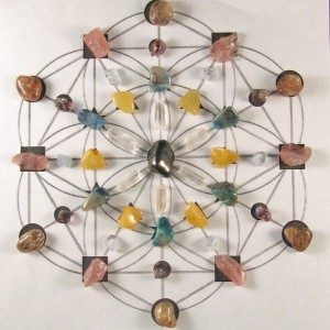Distant Healing Crystal Grid