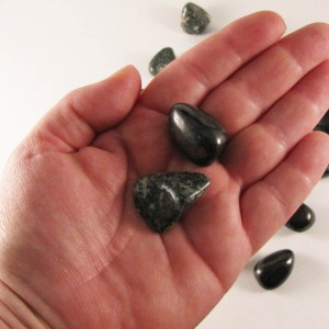 healing crystals, shungite, presili bluestone, pocket rocks